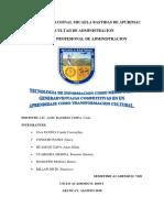 TECNOLOGIAS DE LA INFORMACION DEL CONOCIMENTO UNAMBA- VIII