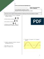 PC - Reducción 1er Cuadrante - Matematicas 5to Secundaria - B - YMCA