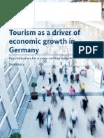 Wirtschaftsfaktor Tourismus in Deutschland Lang