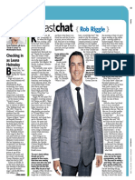 "Newsday ""Fast Chat"" - Rob Riggle"