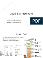 2 Liquid and Gaseous Fuel