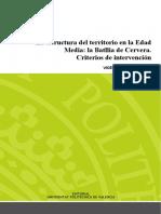 DUALDE - La Estructura Del Territorio en La Edad Media La Batllia de Cervera. Criterios de Inter...