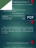 Chap 1 Entreprenuership
