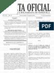 Gaceta Oficial Extraordinaria N° 6.395