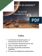 Vida en Universo Para PDF