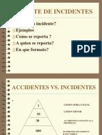 El reporte de incidentes.ppt