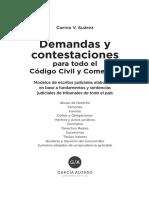 modelo de demandas y contestaciones de demanda