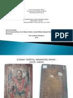 "Restaurarea icoanei ""Arhanghel Mihail"" -master anul I.ppt"