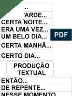 Produção de Texto iniciando meio e fim.doc
