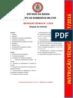 Instrução Técnica Nº. 17.2016