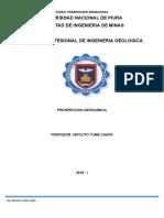 Prospeccion Geoquimica 2018-i