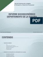 Diapositivas Informe Socioeconómico Departamento de La Guajira 2011