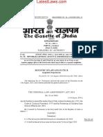 Criminal Law (Amendment) Act, 2018