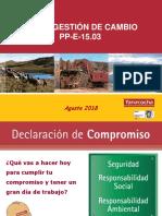 08. Reunión Grupal HS Agosto 2018 - Nueva Gestión Del Cambio