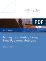 ML Using New Payment Methods