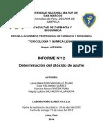 Informe n 16 de Cumarinas (1)