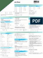 Math Formula Sheet GMAT