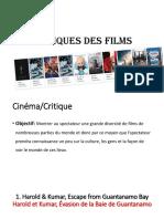 Critiques Des Films