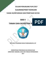 BAB II Tanah Dan Ekosistem Hutan
