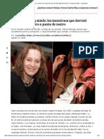 Droga, Alcohol y Miedo_ Los Monstruos Que Derrotó Alejandra Borrero a Punta de Teatro - Las2orillas