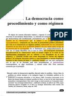 Castoriadis (1995) La Democracia Como Procedimiento y Régimen