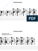 notas de flauta primaria