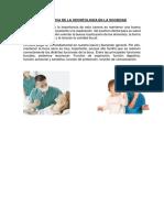 Importancia de La Odontología en La Sociedad