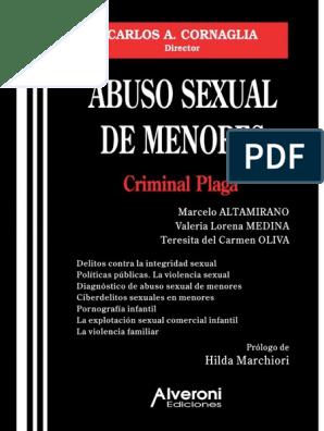 Peliculas completas porno tabu prohibido con niñas menores de edad Abuso Sexual De Menores Pdf Violacion Homosexualidad