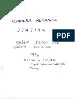 Zbirka Zadataka Iz Statike i Kinematike, 1997