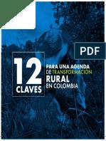 12 claves para una agenda de transformación rural en Colombia