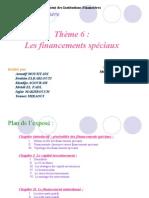 financements speciaux (PPT)