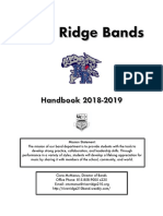 handbook 18 19 - high school