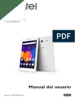 Alcatel Pixi4-7 3g 9003X Spanish User Manual v20160708