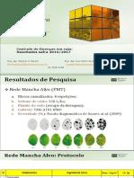 FUNDAÇÃO MS - DOENÇAS - Resultados Fungicias Controle Doenca Da Soja 2017 - Maracaju