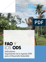 FAO Indicadores ODS