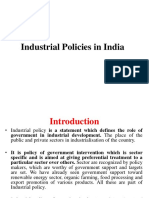 3-Industrail Policies in India