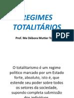 Regimes Totalitários 2018