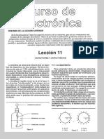 Lección 11 Capacitores y Capacitancias