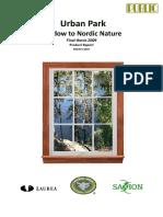 Urban Park _ Window to Nordic