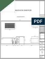 Planimetria Diseño arquitectonico planta de produccion tapas