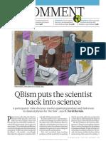 Mermin QBism Puts the Scientist Back Into Science