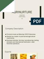 FSA Agrinuture PPT v1