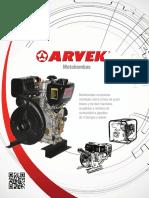 Catálogo motobombas ARVEK