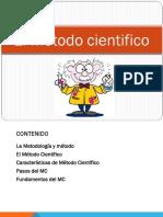 Clase 4. El Método Científico y Elementos Basicos (1)