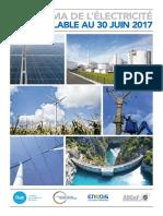 RTE France- Panorama Des Energies Renouvelables- Juin 2017