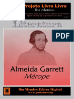 Merope - Almeida Garrett