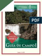 Guía de Campo 1 Unal 2018-1