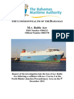 Baltic Ace Report