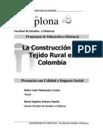 la construcción del tejido rural en colombia