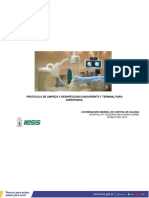 Protocolo de Limpieza y Desinfeccion Concurrente y Terminal Quirofano